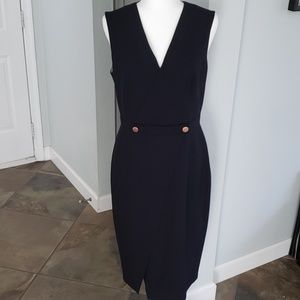NWT! Ted Baker Midi Faux Wrap Dress